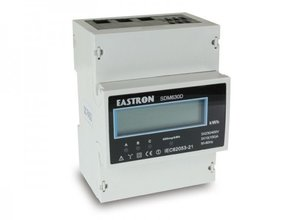 Eastron 3 fase kWh-meter SDM630D