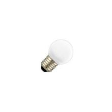 Led lamp 1W E27 warm/wit
