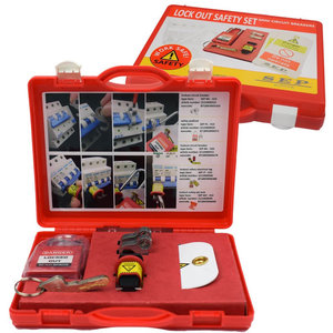 SAF-010 lockout safety set automaten vergrendeling